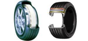 Collison run flat tyres