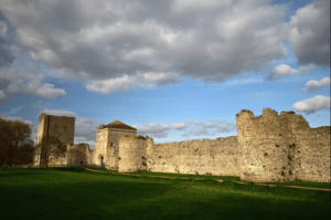Portchester Castle Hampshire