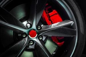 alloy wheel with detail