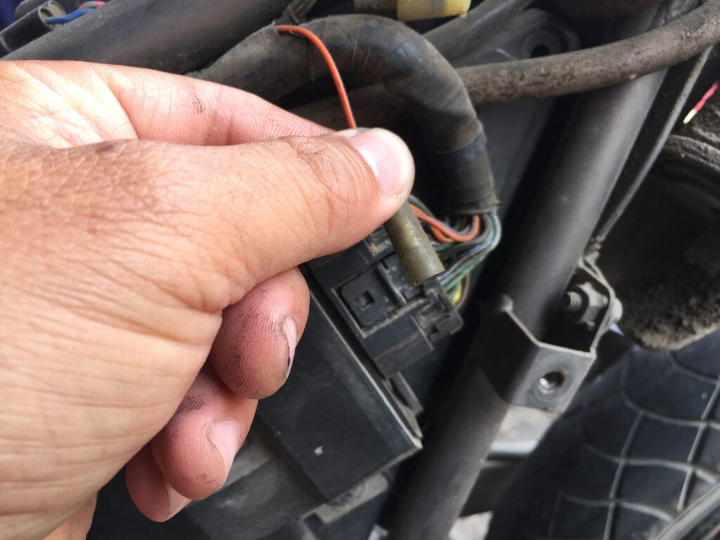 Inspecting car wiring safety